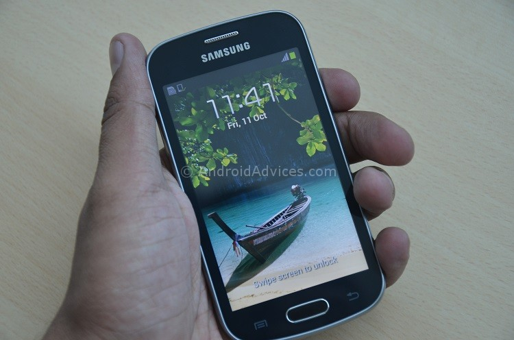 Samsung Galaxy Trend Hands-on