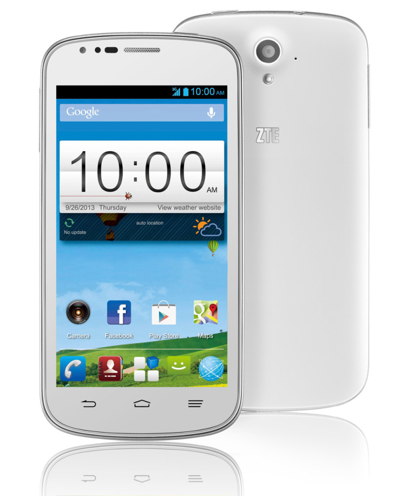 """ZTE Blade Q Android Phone with 4.5"""" Display & 1GB RAM - Specs & Features"""