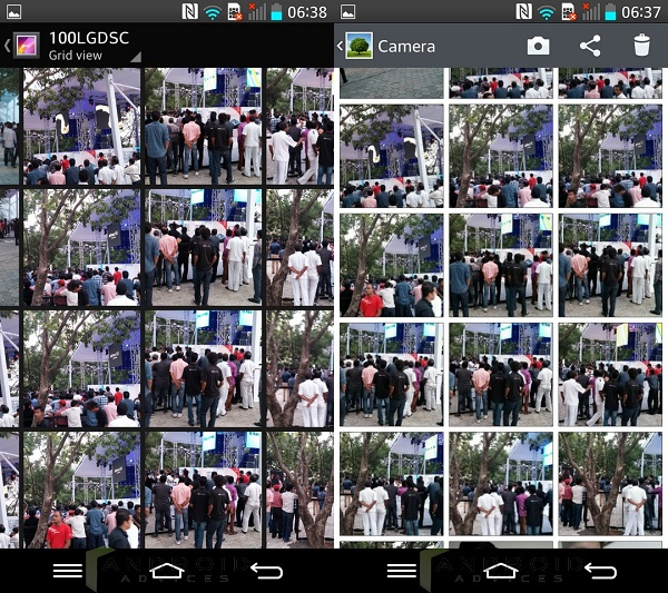 Android KitKat Gallery