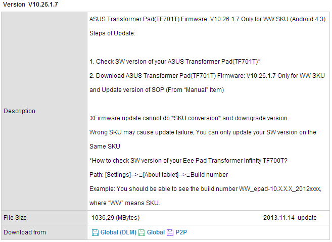 Asus transformer pad tf300tl lte gets its jelly bean treatment.
