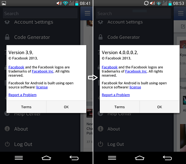 Facebook apk download android 4.0