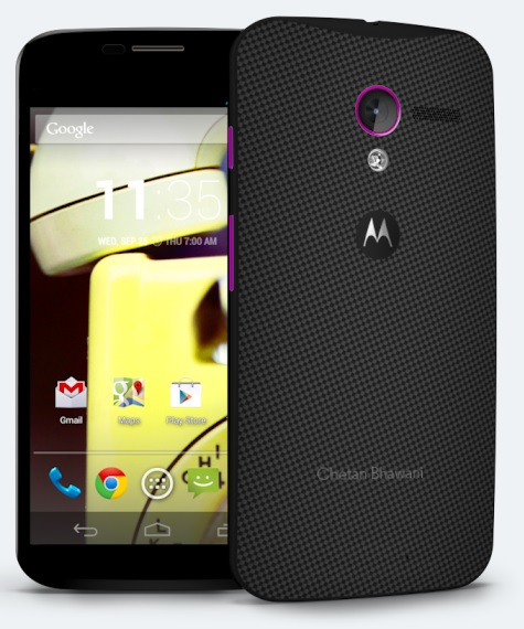 Moto X Customized Colors