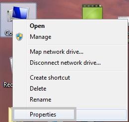 My Computer Properties