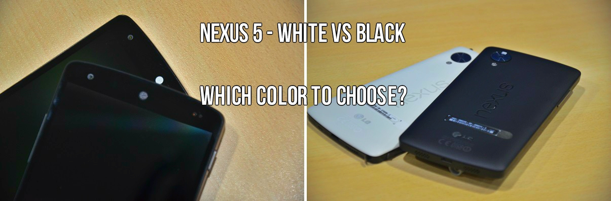 Nexus 5 White vs Black