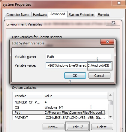 System Variable Add