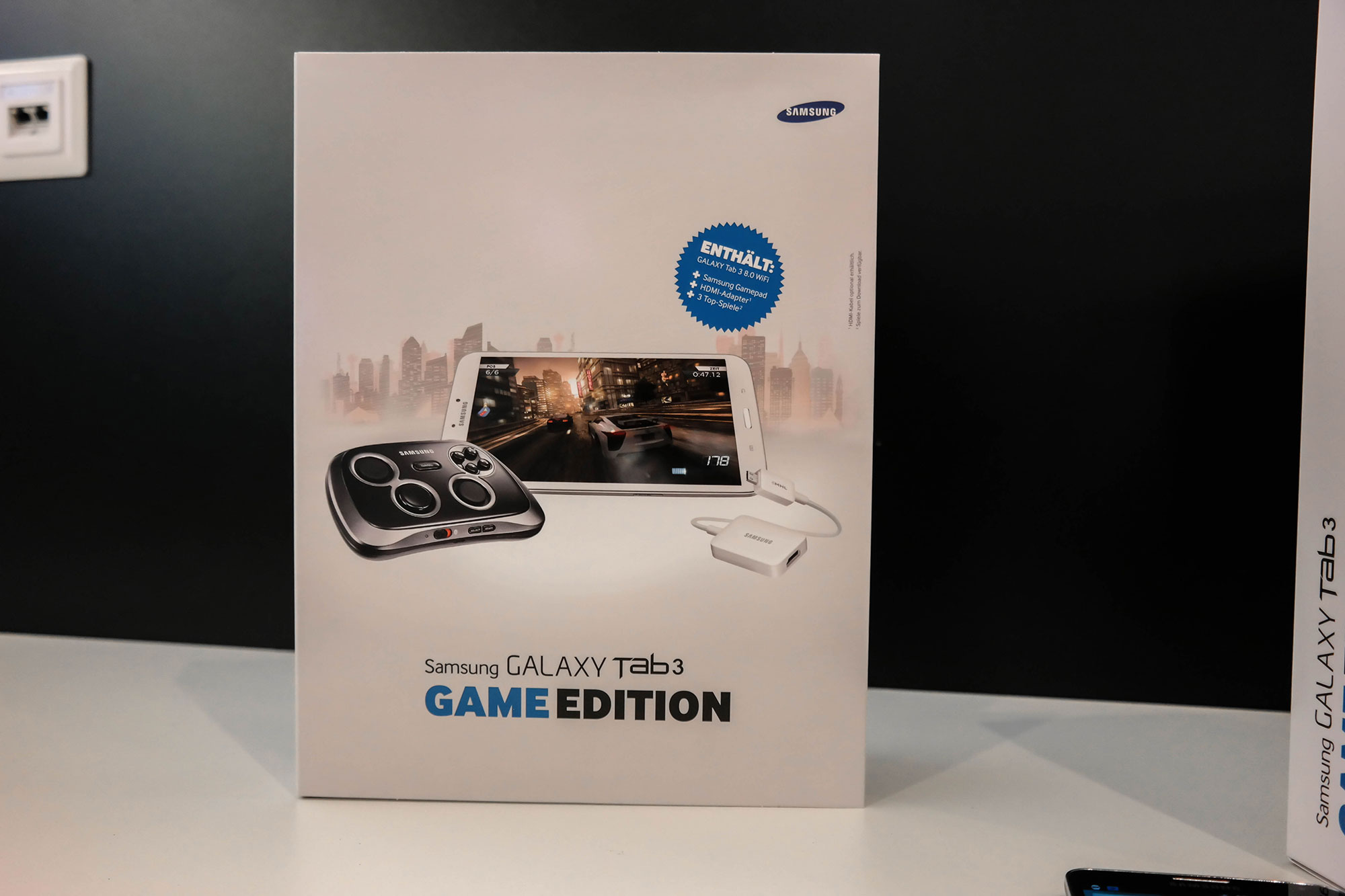Galaxy Tab 3 GamePad Edition
