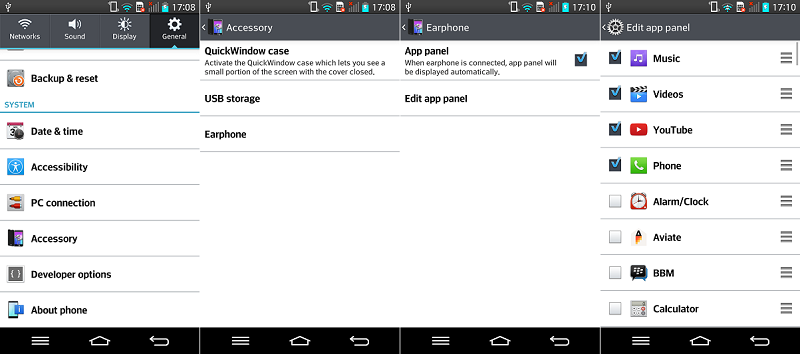 LG G2 Earphone Options