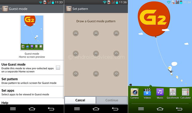 LG G2 Guest Mode Setup - 20 Tip for LG G2 – Hidden Options, Useful Features
