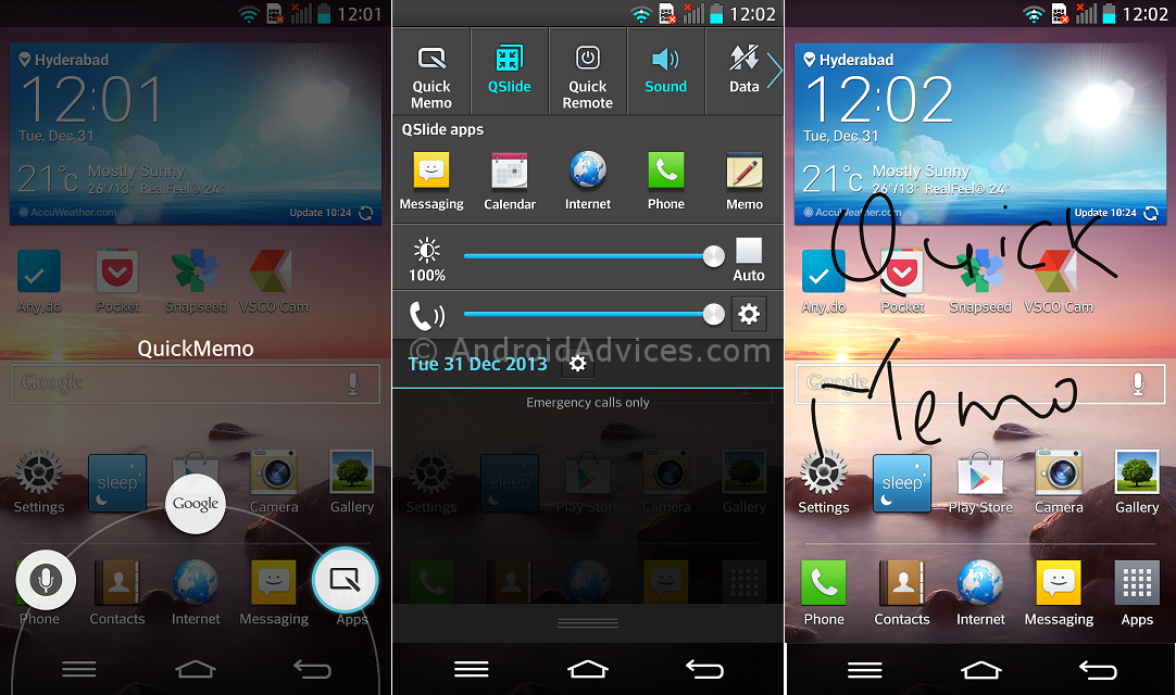 LG G2 QuickMemo - 20 Tip for LG G2 – Hidden Options, Useful Features