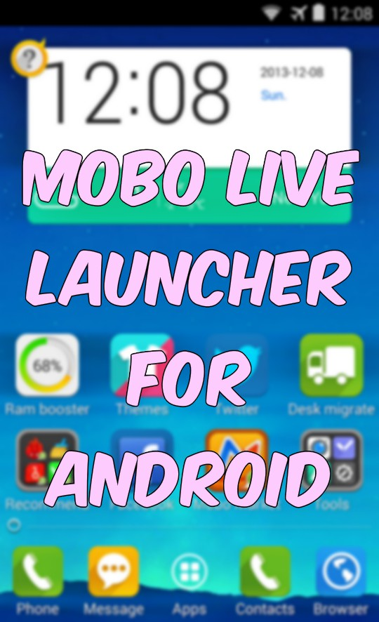 Mobo Live - Highly Customizable App Launcher with Widgets, Managers