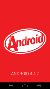 Nexus5 Android4.4.2 Kitkat Update