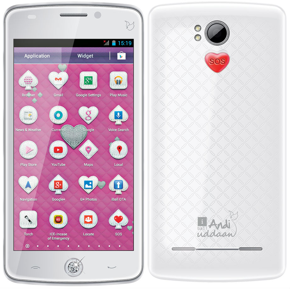 iBall Andi Uddaan Android Phone for Women - SOS Features bcbe8c601