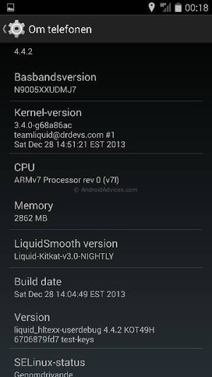4.4.2 FOR GALAXY NOTE 3