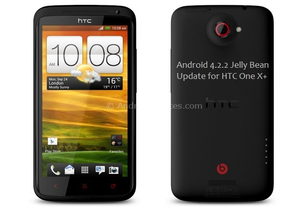 HTC One X+ Android 4.2.2