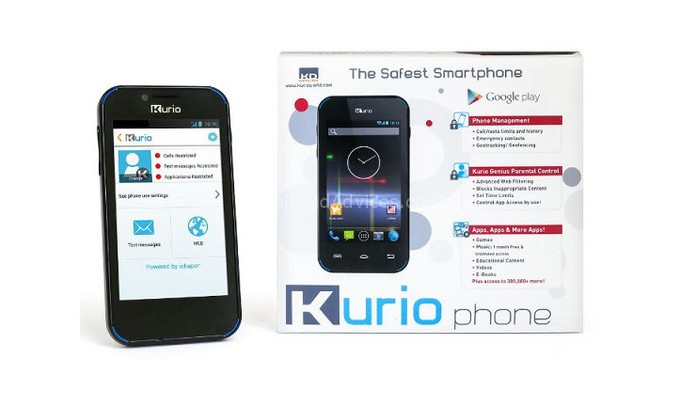 Kurio Safest Smartphone For Kids With 4 Inch Display