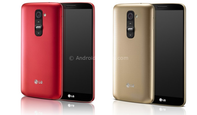 LG G2 (RED and Gold)