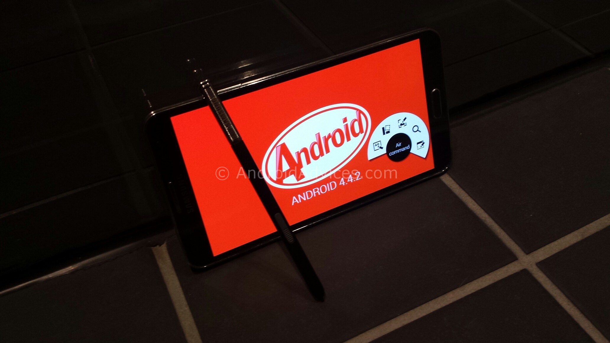 Samsung Galaxy Note 3 Android KitKat Update