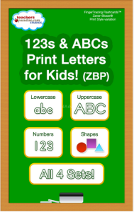 123's and ABCs app