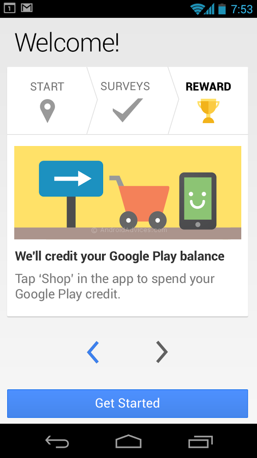 Google Rewards App