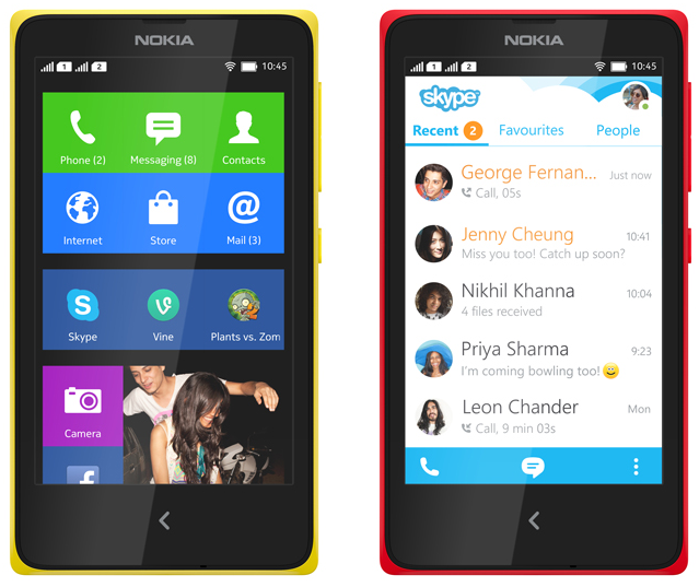nokia x android launcher