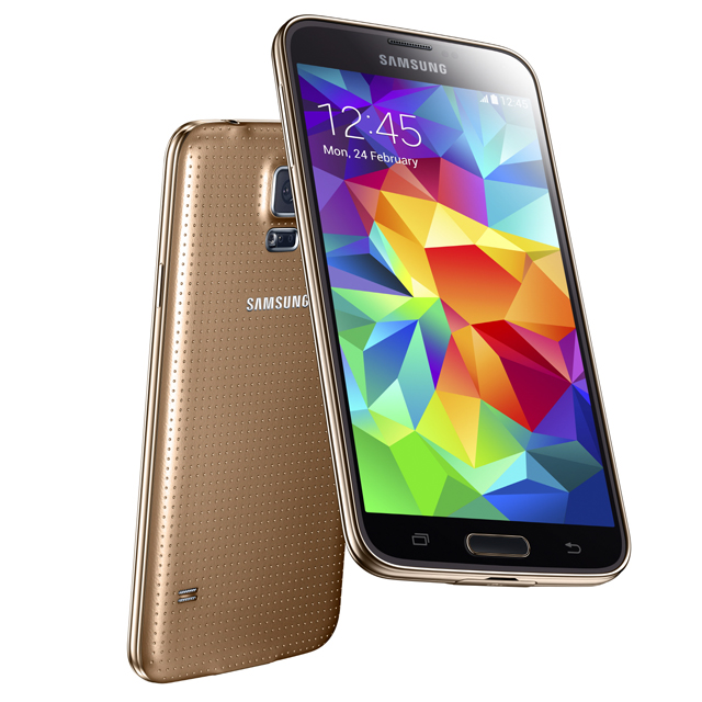 Samsung Galaxy S5 Copper Gold