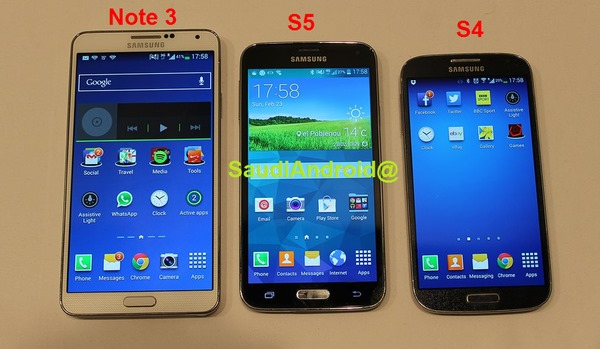 Samsung Galaxy S5 leak 5