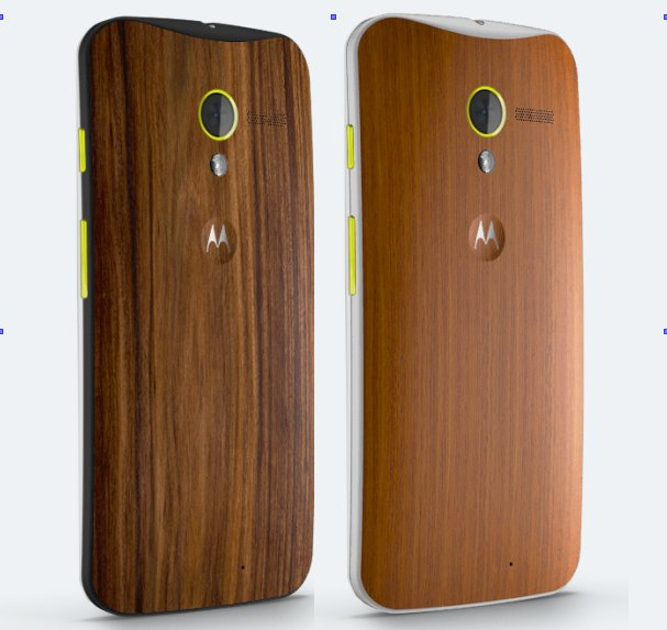 Moto X backs