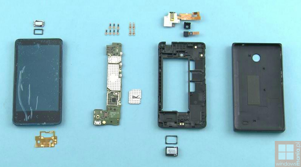 Nokia X Tear Down Parts