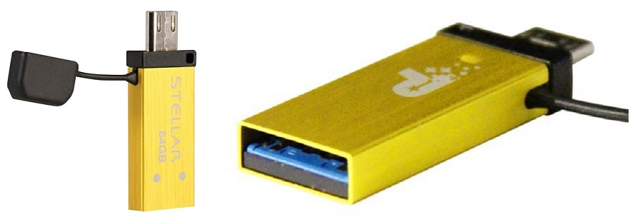 Patriot Stellar Series 64GB USB 3.0 OTG