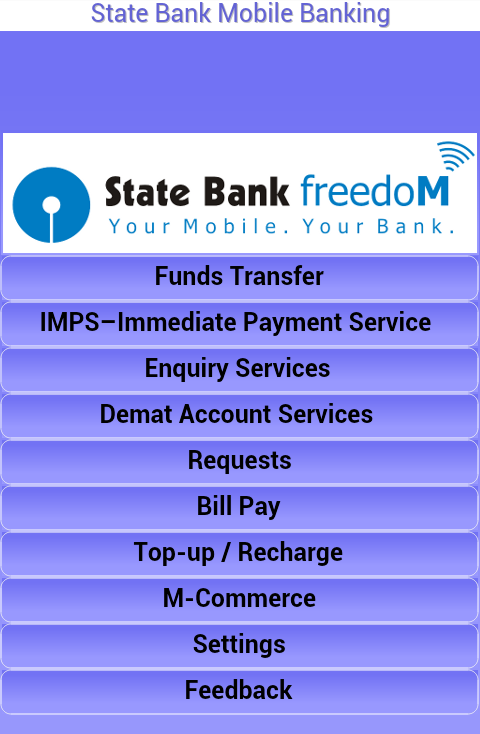 state bank freedom mobile banking android app review problems amp features   android advices