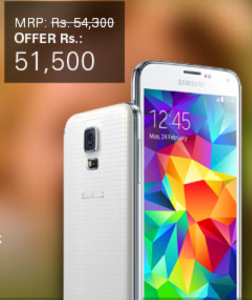 Samsung Galaxy S5 Price India
