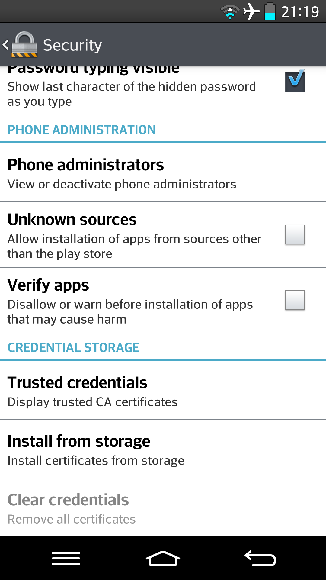 Screenshot 2014 03 14 21 19 22 - How to Allow Android App Installation from APK in LG Android Phones