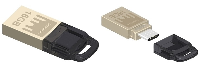 Strontium OTG Nitro 16 GB On-The-Go Pendrive