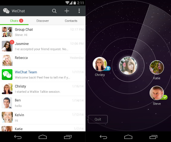 WeChat 5.2 for Android brings New UI and New Features ...