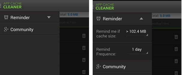 how to fix insufficient storage space available reminder in android