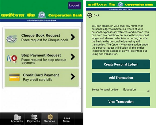 CorpMobile Application for android