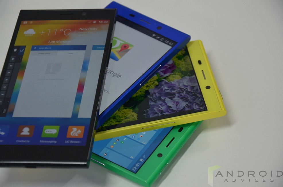 Gionee Elife E7 Color Front