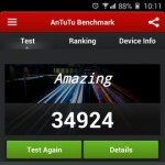 Gionee Elife E7 Interface Benchmarks