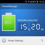 Gionee Elife E7 Interface Power Manager