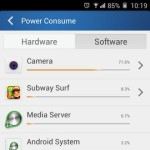 Gionee Elife E7 Interface Power consume software