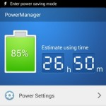 Gionee Elife E7 Interface Power saving mode