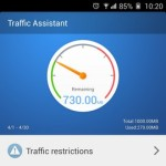 Gionee Elife E7 Interface Traffic assistant