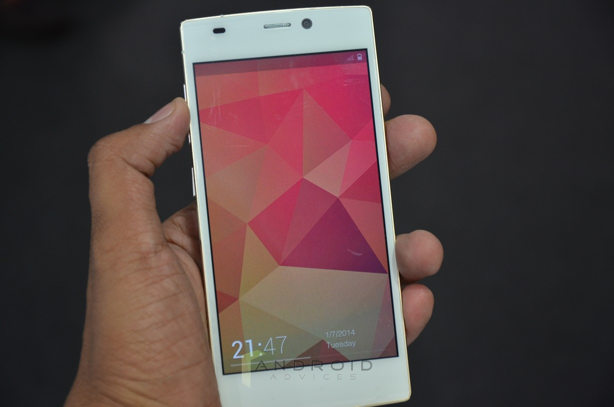 Gionee Elife S5.5 Front