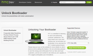 HTC One M8 Bootloader