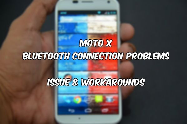 Moto X Bluetooth Problem