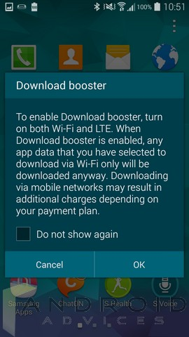 Samsung Galaxy S5 Download Booster 1