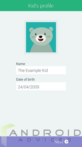 Samsung Galaxy S5 Kids Mode 1