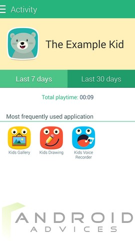 Samsung Galaxy S5 Kids Mode 14