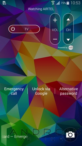 Samsung Galaxy S5 Screen Unlock 1