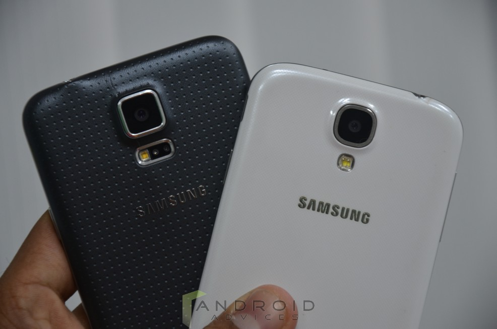 Samsung Galaxy S5 vs S4 6